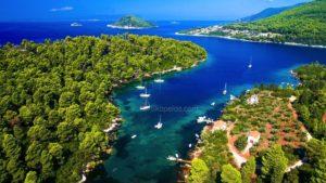 Adrina Otellər, Skopelosda görməli yerlər, Skopelosdakı Ai Giannis Kastri, skopelos dalış mərkəzi