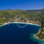 Skopelos Panormos Village Port Aerial Photo