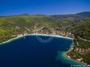 سواحل Skopelos ، اسکوپلوس ساحلی Panormos ، وبلاگ های Skopelos