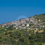 Skopelos Glossa Town Village Photo