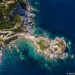 Skopelos Churches Agios Ioannis Aerial Photo