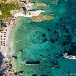 Foto aérea de Skopelos-Agios-Ioannis