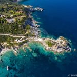 Skopelos Beaches Agios Ioannis Aerial Photo