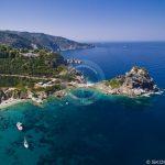 Skopelos Beaches Agios Ioannis Cave Lugfoto