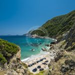 Plaže Skopelos Agios Ioannis Beach Photo
