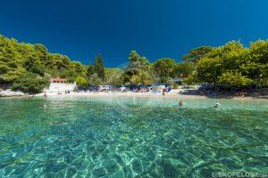 سواحل Skopelos ، Skopelos ساحل Agnondas ، وبلاگ های Skopelos
