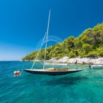 Skopelos Agnontas Beach Seaview Photo