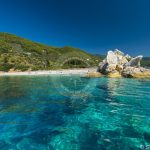 Skopelos strande Armenopetra Beach Seaview Photo