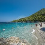 Skopelos Beaches Kastani Beach Photo