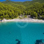 Skopelos Beaches Kastani Beach Aerial Photo