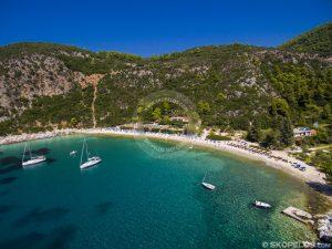 ساحل Skopelos ، ساحل Limnonari ، وبلاگ Skopelos