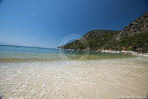 limnonari beach skopelos, limnonari skopelos, beaches skopelos
