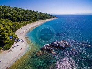 Plaje Skopelos, plaja Milia