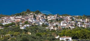 glossa skopelos, glossa village, villages skopelos