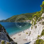 Skopelos Hovolo Beach vue de la mer photo