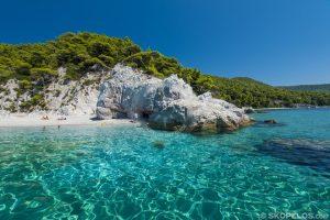 سواحل Skopelos ، Skopelos hovolo
