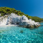 Skopelos Hovolo Beach Seaview Photo