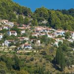 Skopelos Villages Palio Klima Village Aerial Photo