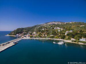 Porturile Skopelos Glossa Loutraki, de la mantoudi la skopelos, turism skopelos