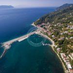 Skopelos Ports Glossa Loutraki Port Aerial Photos