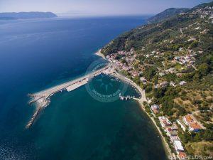 Skopelos Häfen, Glossa Loutraki Port, vu Skiathos bis Skopelos