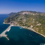 Skopelos Ports Glossa Loutraki Port Aerial Photo