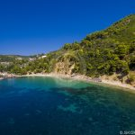 Skopelos Stafilos Beach Loftfoto