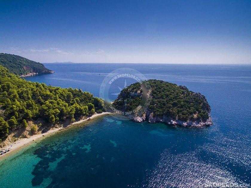 Apata Skopelos Stafilos Tumb Rock, Awọn etikun Skopelos, bulọọgi bulọọgi skopelos