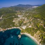 Skopelos Stafilos Village Loftfoto