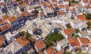 Chora Skopelos, Skopelos Town