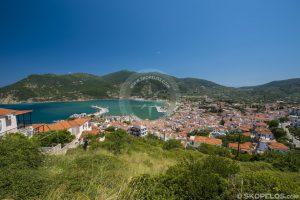Seoska luka grada Skopelos, Chora Skopelos