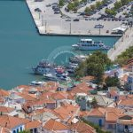 Skopelos Town Village Port Aerial Photo