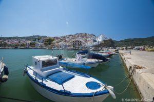 Skopelos Chora, ibudo skopelos, lati de skopelos, lati volos si skopelos