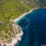 Skopelos Velanio Beach Aerial Photo