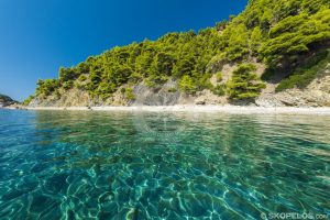 velanio beach, beaches skopelos, stafylos beach
