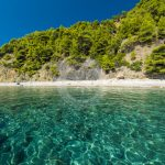 Skopelos Velanio Beach Seaview légi fotó