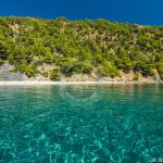 Skopelos Velanio Beach Seaview Aerial Photo