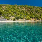 Foto aerea di Skopelos Velanio Beach Seaview