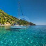 תצלום נוף לים של Skopelos Velanio