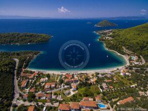 Panormos Skopelos, Sela Skopelos, Plaže Skopelos, Skooris Beach Panormos