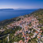 Skopelos Villages Glossa Villagen ilmakuva