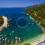 Skopelos Villages Ports Agnontas Aerial Photo