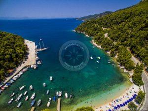 Skopelos Agnontas, skopelos çimərlikləri