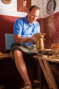 nikos rodios skopelos, ceramică skopelos, artiști skopelos