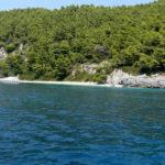 ساحل Skopelos Megalo Pefko
