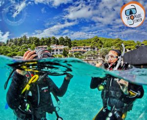 skopelos scuba diving dive center sporades diving, adrina beach hotel