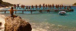 Μάμμα Μία στη Σκόπελο, ταινία Μάμα μία, καστάνη παραλία μάμα μία