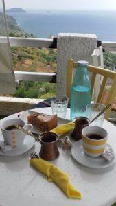 P 'tharakia (Ptharakia) Espresso & Cocktail bar, glossa skopelos, mic dejun skopelos