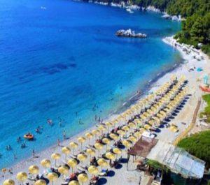 milia beach bar, milia beach skopelos, beach bars skopelos