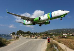 aeroportul Skiathos, skopelos cu avionul